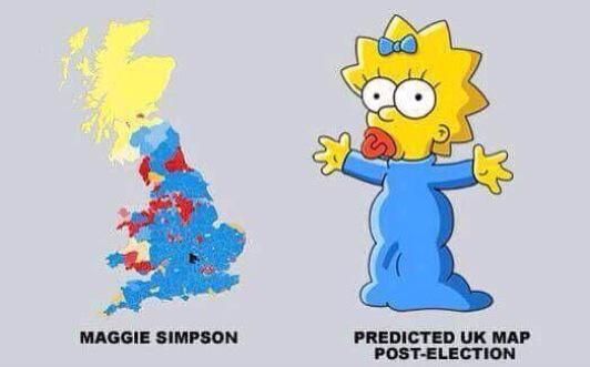 Maggie Simpson UK election map
