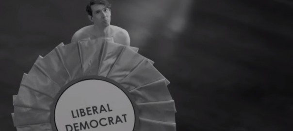 The Un-credible Shrinking Man (Nick Clegg / Labour PEB)