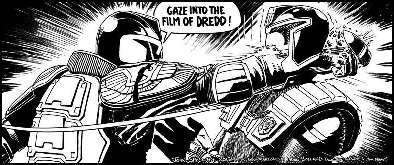 Gaze into the Film of Dredd (credit: John Spelling)