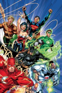 Cover to Justice League #1 (2011)