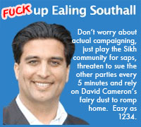 Fuck up Ealing Southall