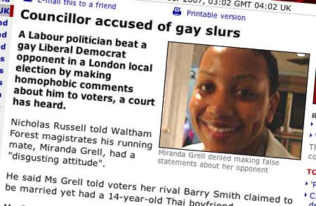 Miranda Grell news story