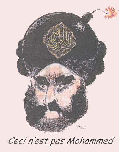 Cartoon - This is not Mohammed