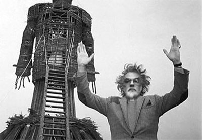 Rowan Williams as Lord Summerisle in the Wicker Man