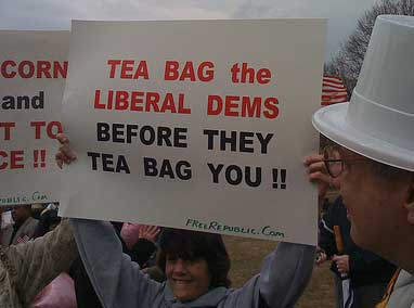 Tea Bag the Liberal Dems before they Tea Bag You!!