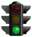 Traffic light - green