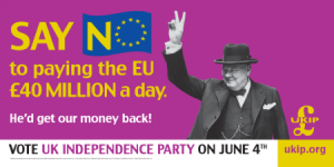 UKIP Billboard from 2004