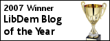 2007 winner Lib Dem Blog of the Year