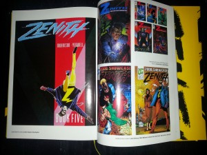 some of the reprint covers which appear in the Complete Zenith