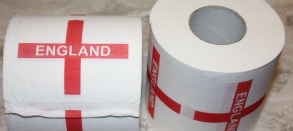 England toilet paper